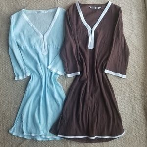 Athleta bundle of 2 dresses women small